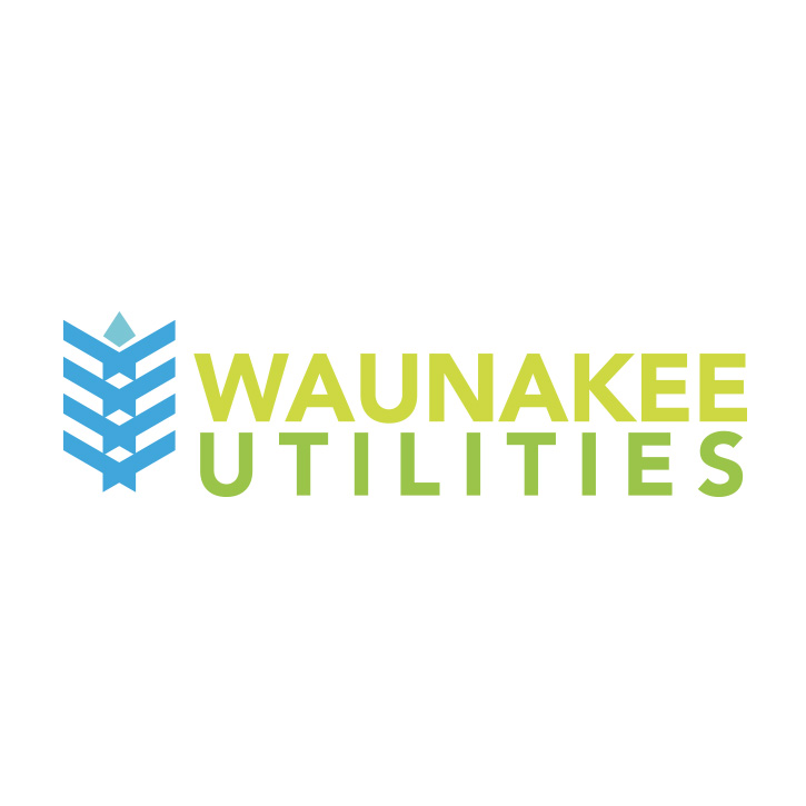 Waunakee Utilities Logo Design