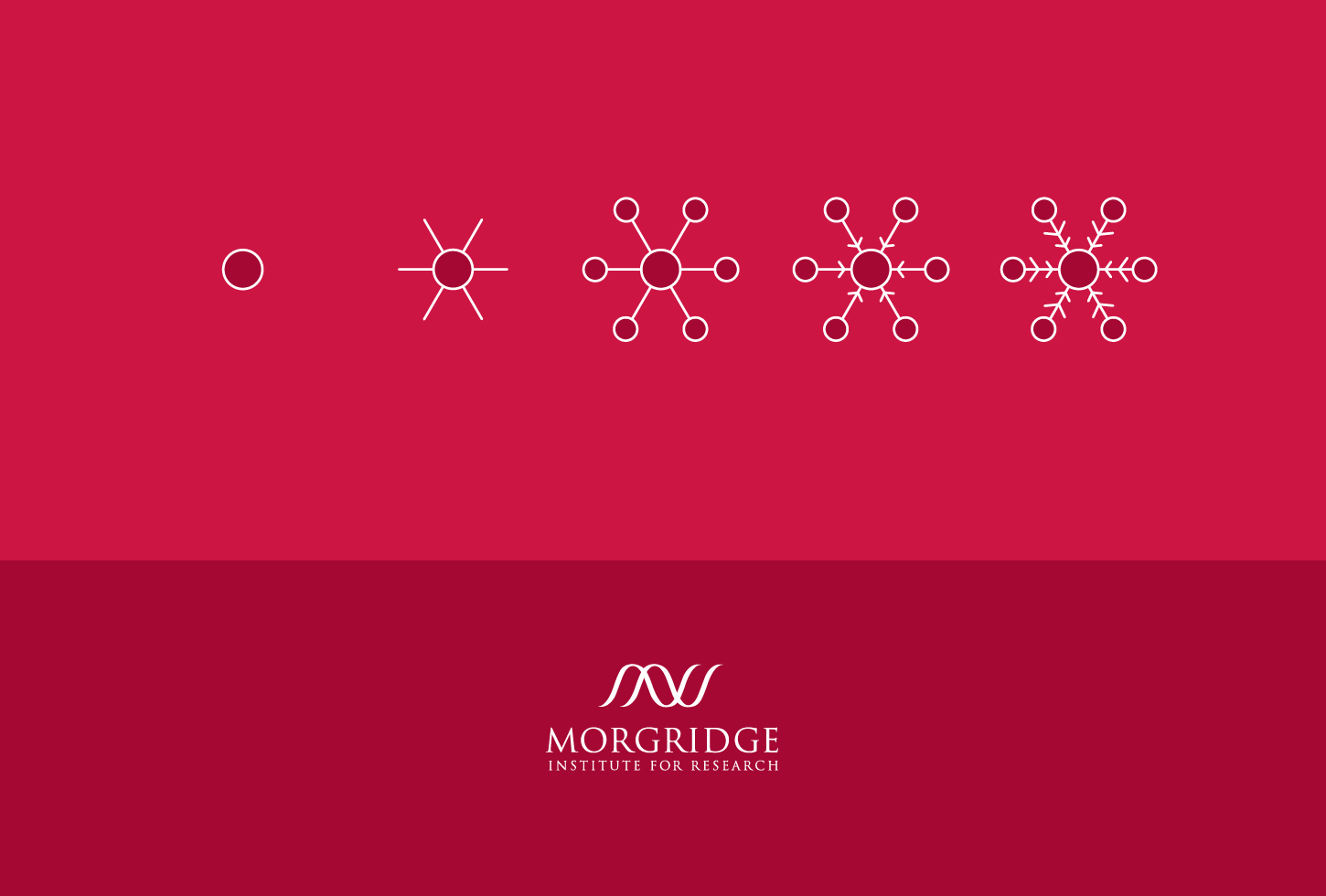 Morgridge holiday card design