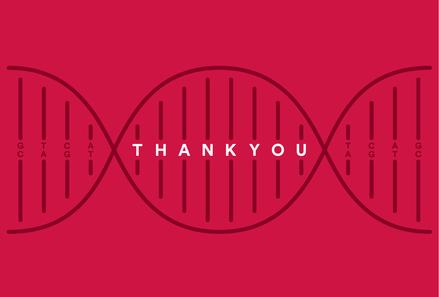 Morgridge thank you card design