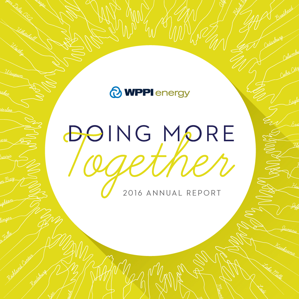 WPPI Energy Annual Report Cover