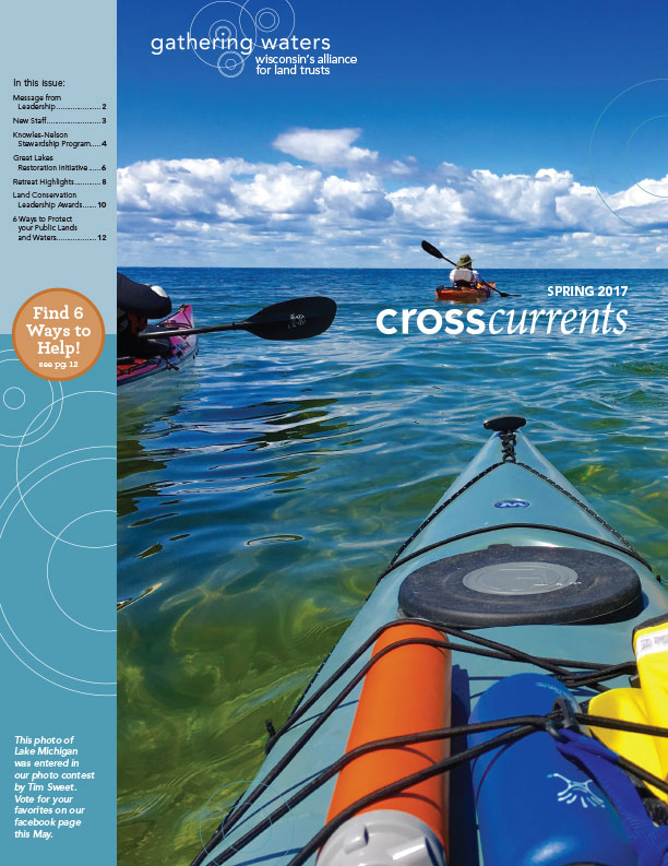 Cover design for non-profit newsletter design