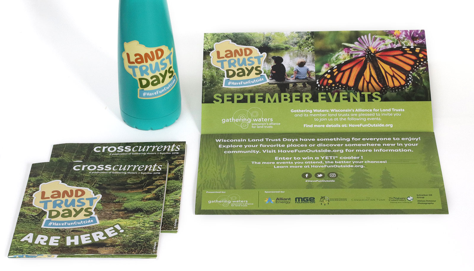 Wisconsin Land Trust Days Event Brand and design
